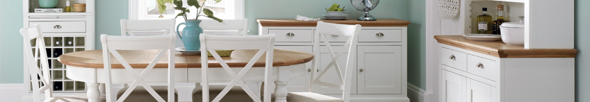 Hampstead Two Tone Dining and Living Room Furniture