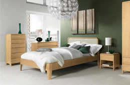 Capri Oak Bedroom Collection