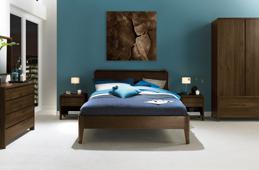 Capri Walnut Bedroom Collection