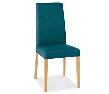 Miles Oak Fabric Dining Chair