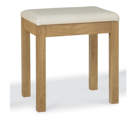Bentley designs atlanta oak dressing table stool for Dining table dressing