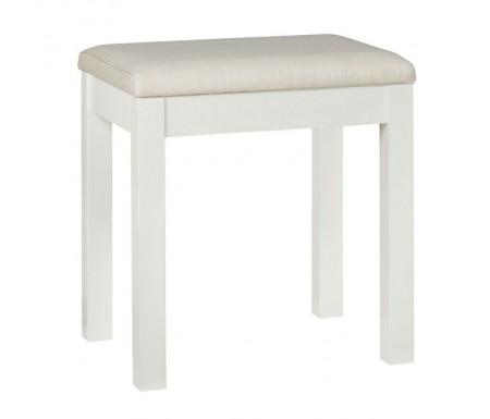 Bentley Designs Atlanta White Dressing Table Stool