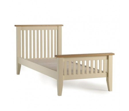 Camden Two Tone Single Bed Frame
