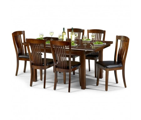 Julian Bowen Canterbury Dining Set With 6 Dining Chairs