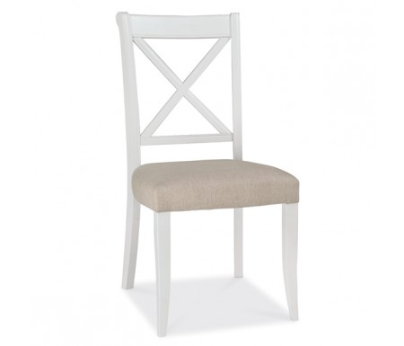 Bentley Designs Hampstead Two Tone X Back Dining Chair