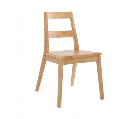 LPD Malmo Oak Dining Chair ( Pair )