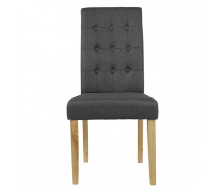 LPD Roma Lime Fabric Dining Chair