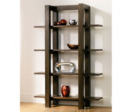 Bentley Designs Lyon Walnut Open Shelf Unit