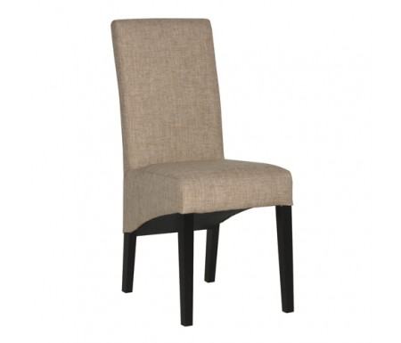 Tweed Fabric Dining Chair