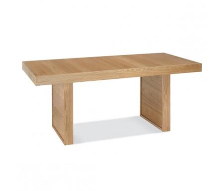 Bentley Designs Osaka Oak 6 Seater Panel Dining Table