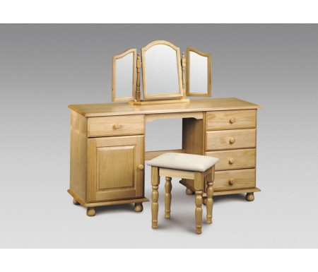 Julian Bowen Pickwick Pine Twin Dressing Table