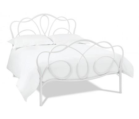 Bentley Designs Serenity 150cm White Bed Frame