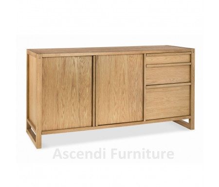 Bentley Designs Studio Oak Sideboard