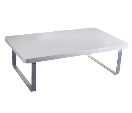 LPD Accent High Gloss White Coffee Table