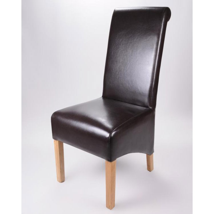 Brown Leather Dining Chairs Uk Alder Brown Leather  : krista brown leather chair from www.amlibgroup.com size 750 x 750 jpeg 42kB