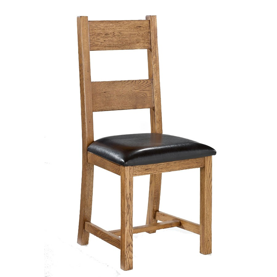 Oak Dinette Chairs ~ Lpd dorset solid oak dining chair pair
