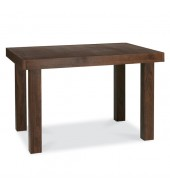 Bentley Designs Akita Walnut 4 - 6 End Extension Dining Table