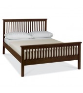 Bentley Designs Atlanta Dark Kingsize ( 150cm ) Bed Frame