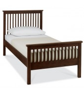 Bentley Designs Atlanta Dark Single ( 90cm ) Bed Frame