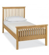 Bentley Designs Atlanta Oak Single ( 90cm ) Bed Frame