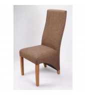 Shankar Baxter Cinnamon Fabric Dining Chair
