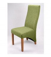 Shankar Baxter Lime Fabric Dining Chair