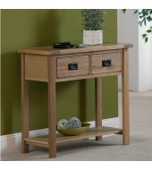 Cabos Narrow Oak Console Sideboard