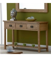 Cabos Solid Oak Console Sideboard