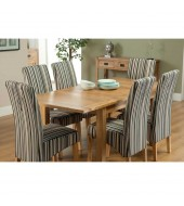 Cabos 130cm Extending Oak Dining Set