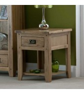 Cabos Oak Lamp Table