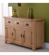 Cabos Solid Oak Large Sideboard