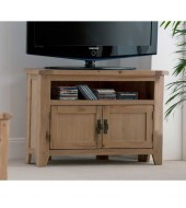 Cabos Corner Oak TV Unit