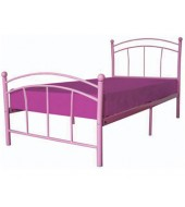 LPD Chloe Single Bed in Pink
