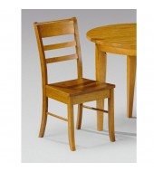 Julian Bowen Consort Honey Pine Dining Chair