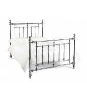 Bentley Designs Imperial 150cm Antique Nickel Bed Frame