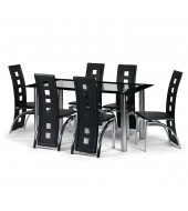 Julian Bowen Brescia Dining Set
