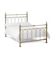 Bentley Designs Krystal 135cm Antique Brass Bed Frame