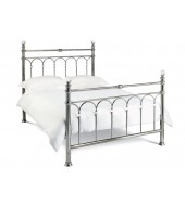 Bentley Designs Krystal Antique Nickel 150cm Bed Frame