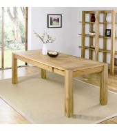 Bentley Designs Lyon Oak 180cm Extending Dining Table