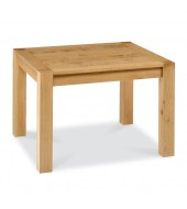 Bentley Designs Lyon Oak Square Extending Dining Table