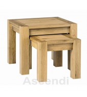 Bentley Designs Lyon Oak Nest of Tables