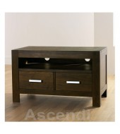 Bentley Designs Lyon Walnut Entertainment Unit