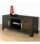 Bentley Designs Lyon Walnut Large Entertainment Unit