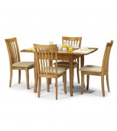 Julian Bowen Newbury 4 Seat Extending Dining Set