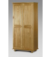 Julian Bowen Pine 2 Door Wardrobe