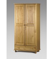 Julian Bowen Pickwick Pine Wardrobe
