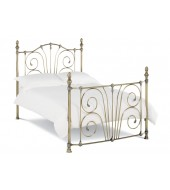 Bentley Designs Rebecca 150cm Antique Brass Bed Frame
