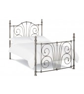 Bentley Designs Rebecca 150cm Nickel Plated Bed Frame