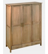 LPD Rosedale 3 Door Oak Wardrobe
