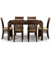 Julian Bowen Santiago Wenge Dining Set
